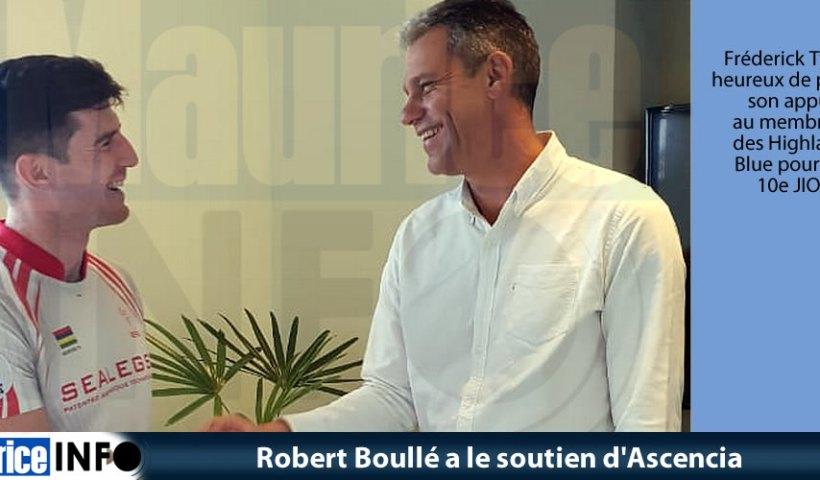 Rober Boullé a le soutien Ascencia