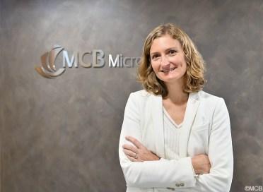 Aurélie Leclézio, CEO de MCB Microfinance