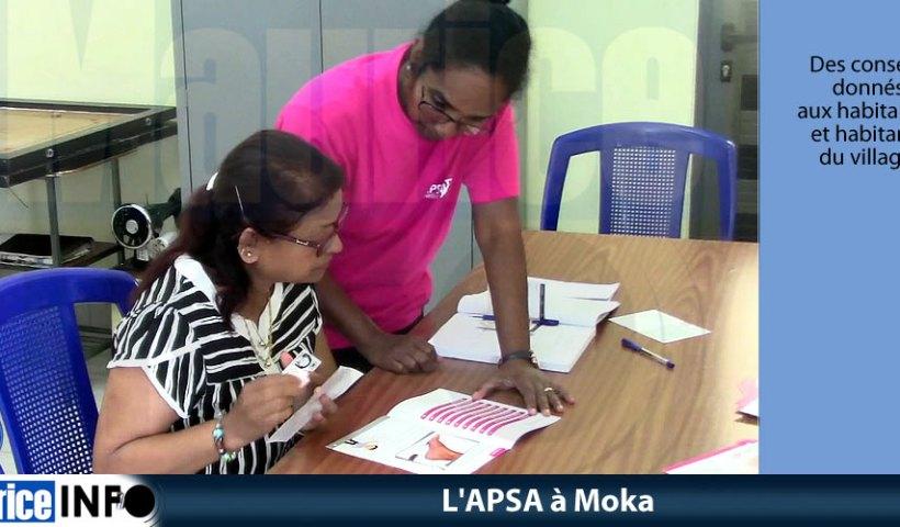 L'APSA à Moka