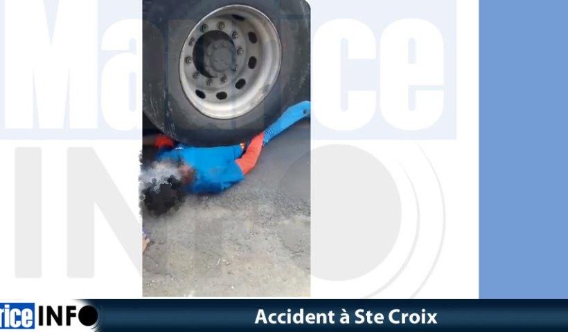 Accident à Ste Croix