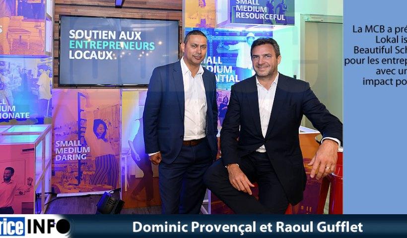Dominic Provençal et Raoul Gufflet