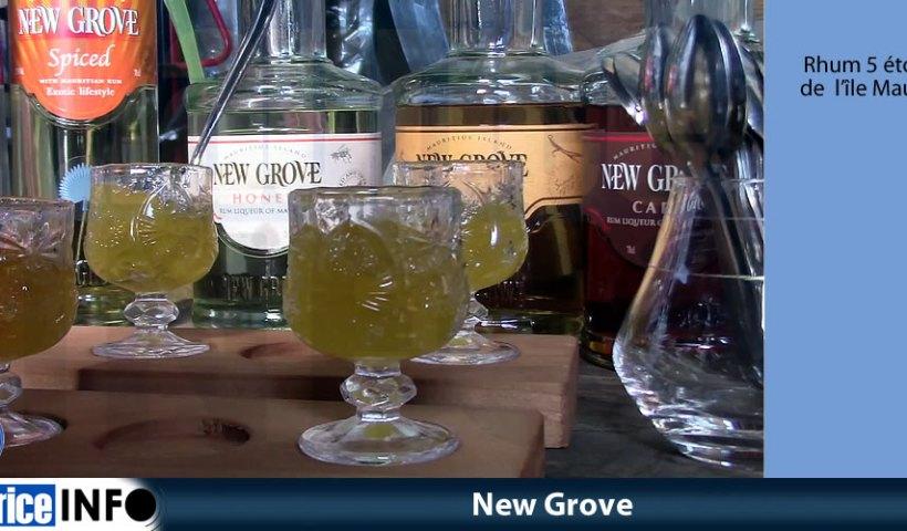 New Grove rhum 5 étoiles