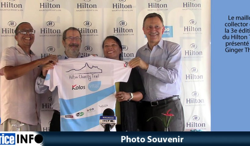 Photo Souvenir maillot 3e édition Hilton Trail