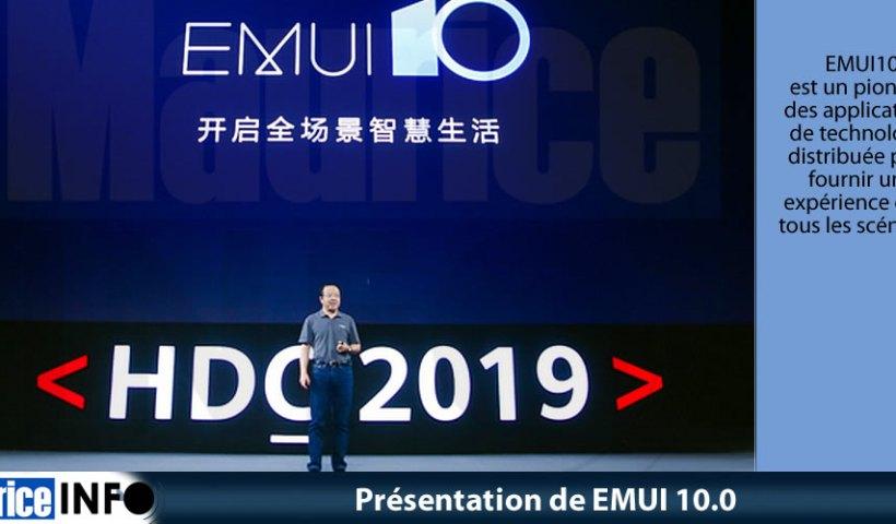 Présentation de EMUI 10.0