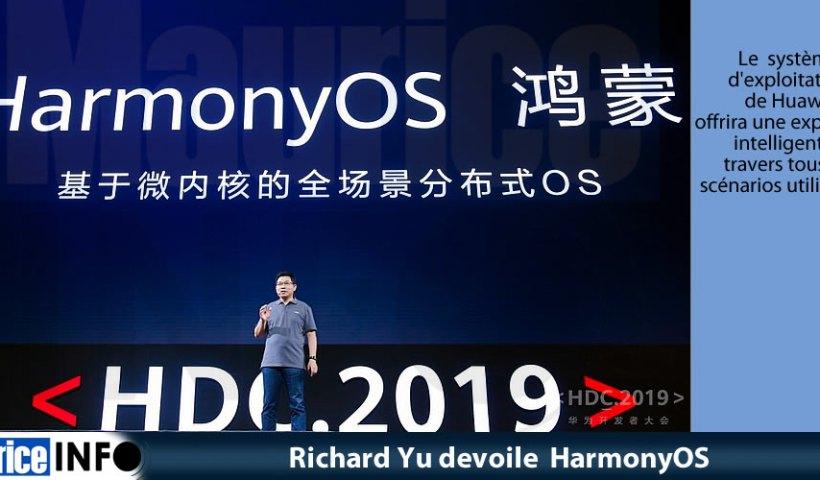 Richard Yu devoile HarmonyOS