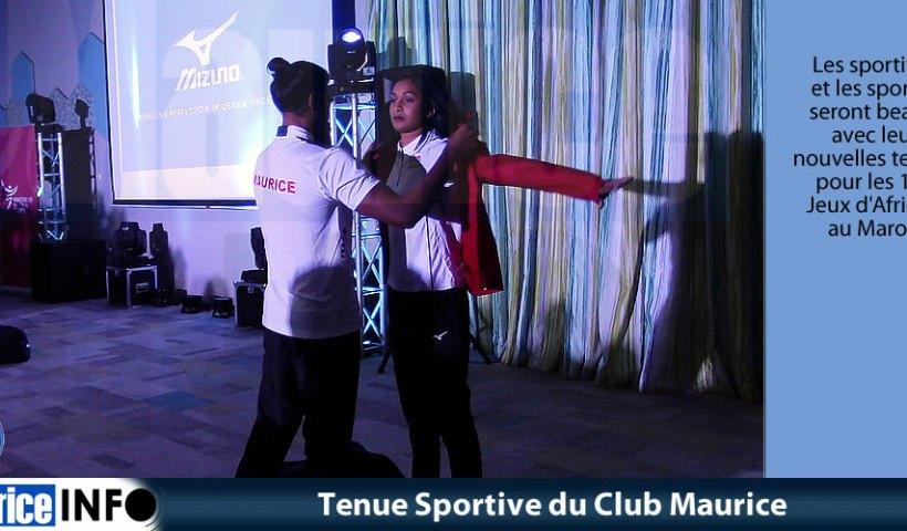 Tenue Sportive du Club Maurice