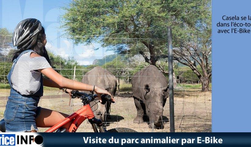 Visite du parc animalier par E-Bike