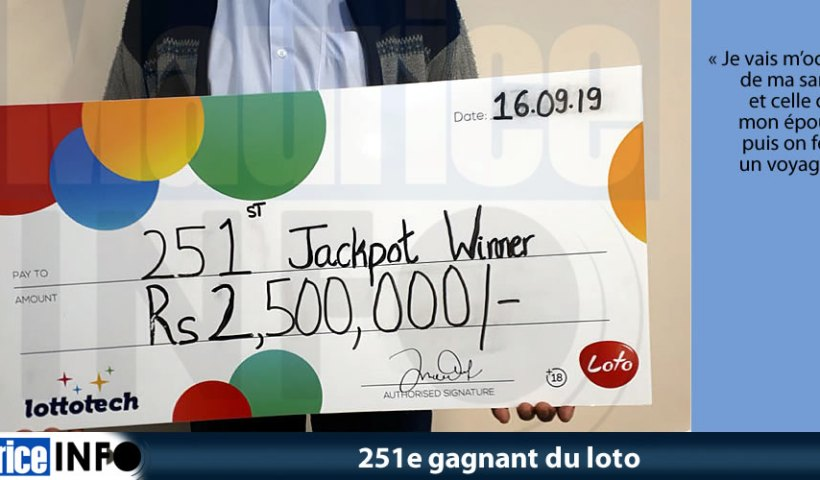 251e gagnant du loto