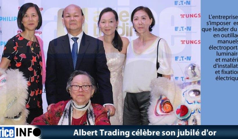 Albert Trading célèbre son jubilé d'or