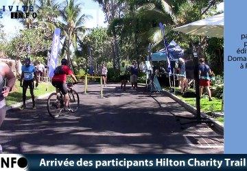 Arrivée des participants Hilton Charity Trail 2019