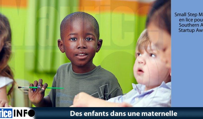 Des enfants dans une maternelle