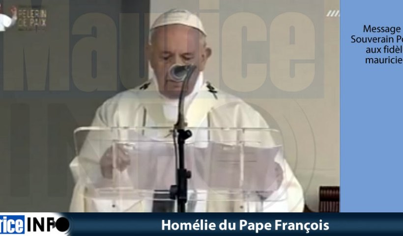 Homélie du Pape François © Images MBC