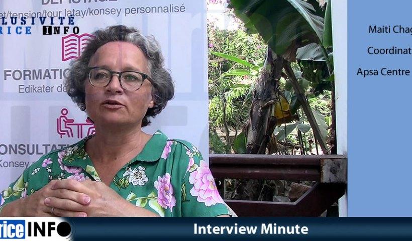 Interview Minute de Maiti Chagny