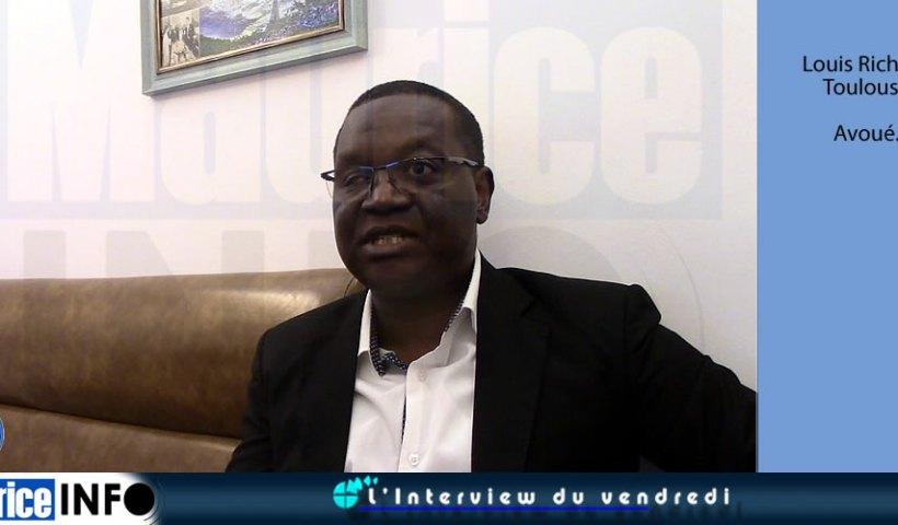 L'Interview du Vendredi de Louis Richard Toulouse