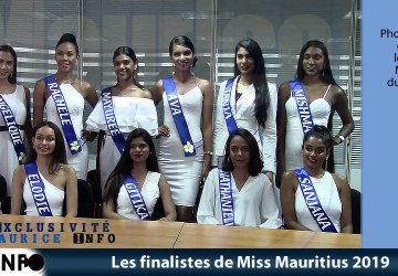 Les finalistes de Miss Mauritius 2019