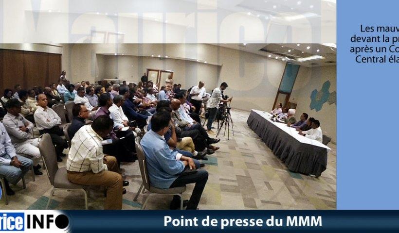 Point de presse du MMM du 31 Août 2019