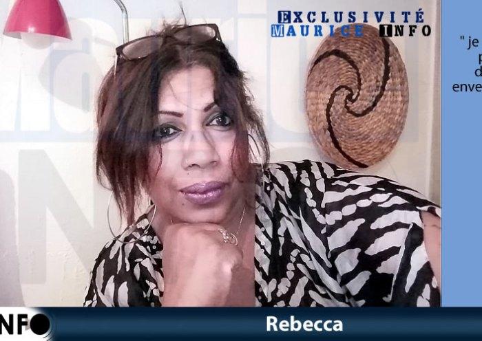 Rebecca choquée