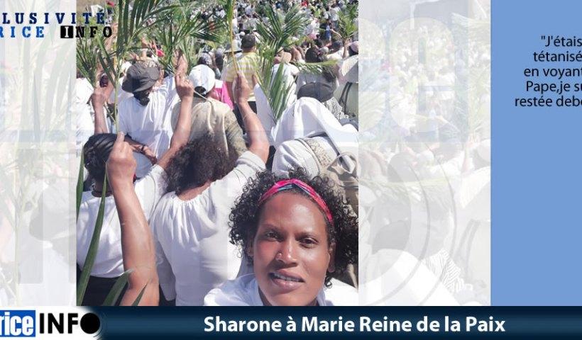 Sharone à Marie Reine de la Paix
