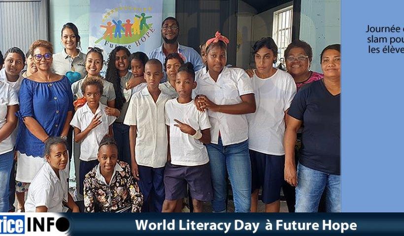World Literacy Day à Future Hope