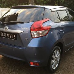 Toyota Yaris Trd Matic Grand New Avanza G 1.5 Used 2015 For Sale Terre Rouge