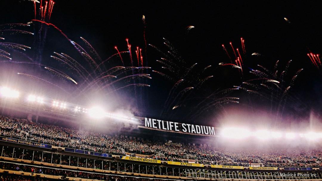 Metlife Stadium Fireworks
