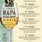 333 Pacific Napa Wine Dinner