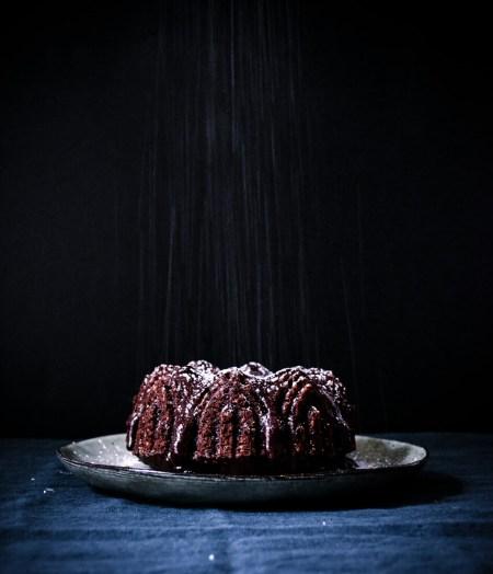 Bundt cake chocolat