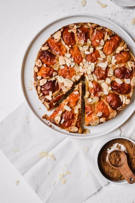 Gâteau amande abricot