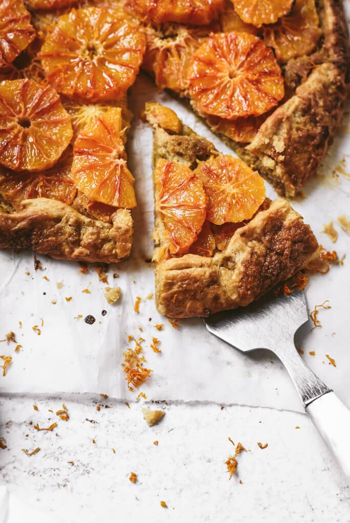 Dessert à l'orange