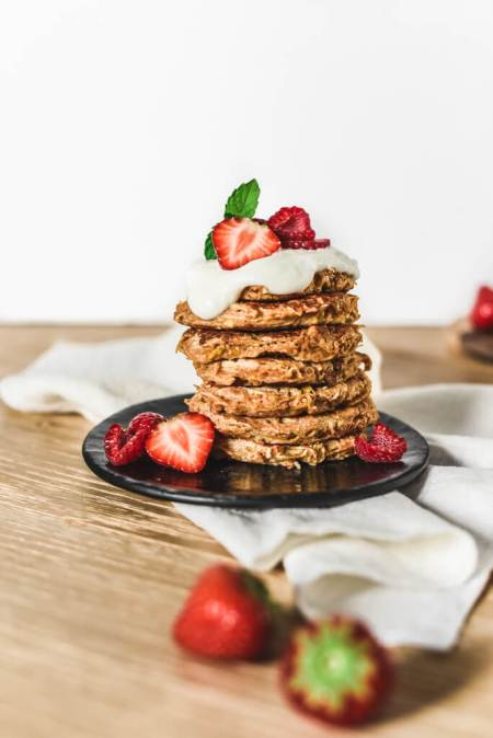 Pancakes pomme Weight Watchers sans sucre