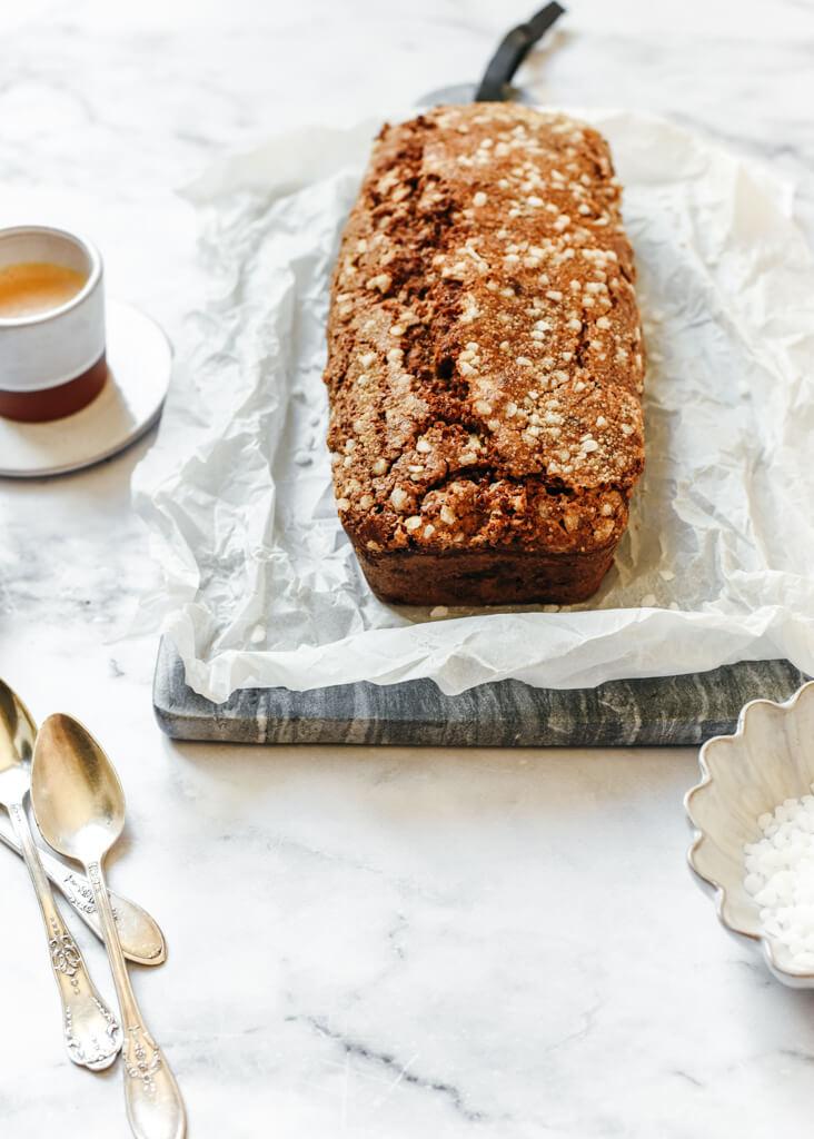 Cake au café et rhum