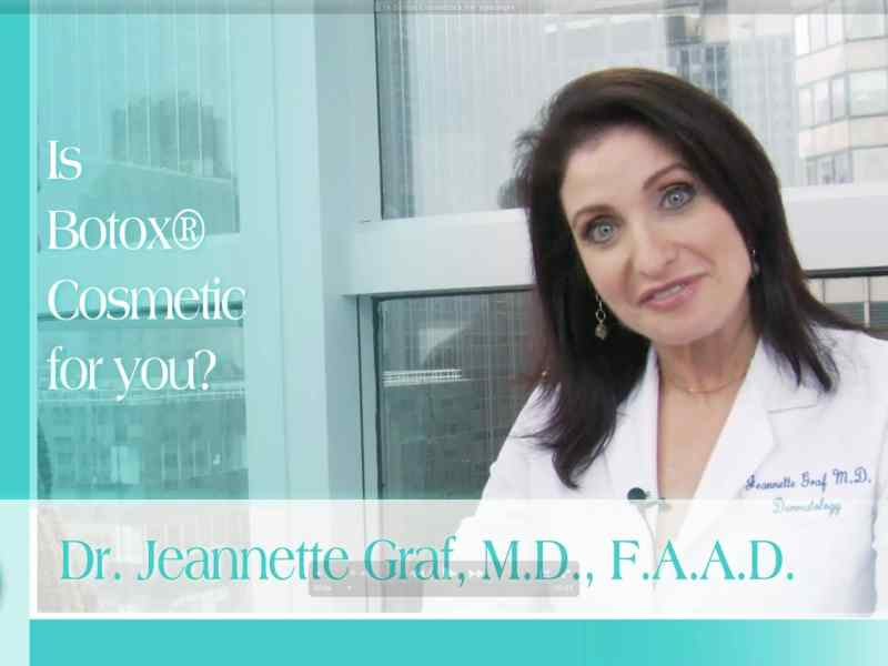 Is Botox Cosmetics For You