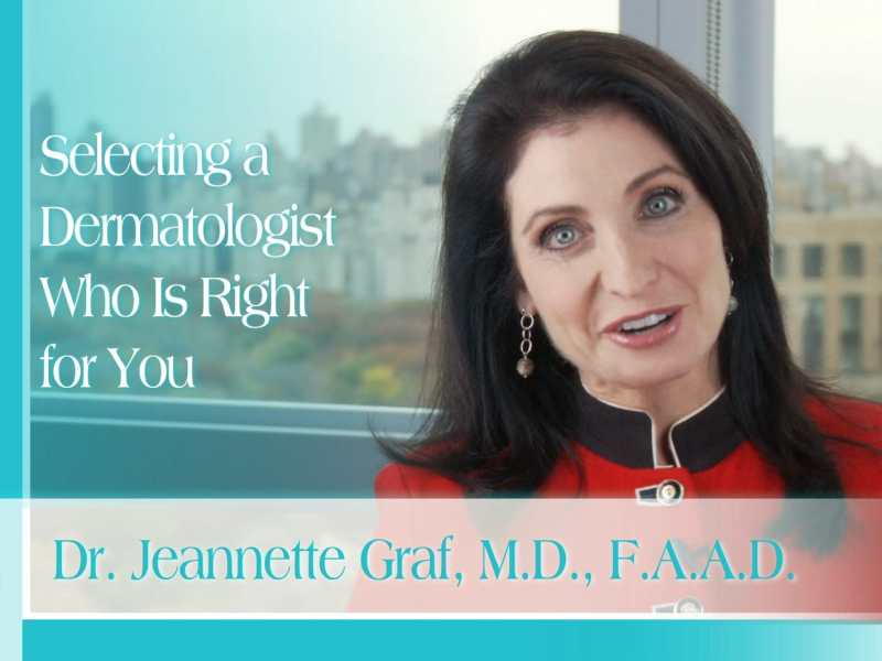 Selecting a Dermatologist