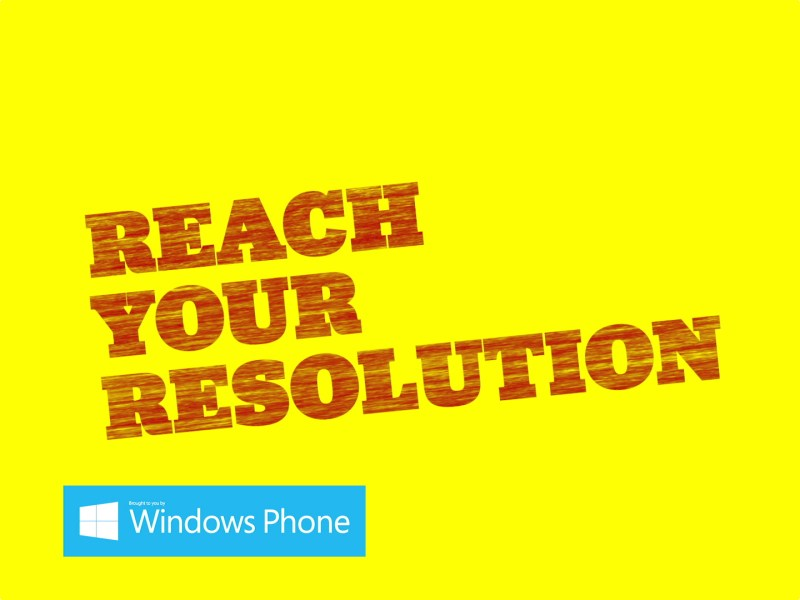 Reach Your Resolution