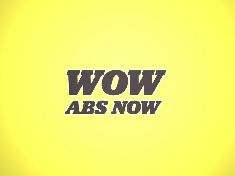 Wow Abs Now