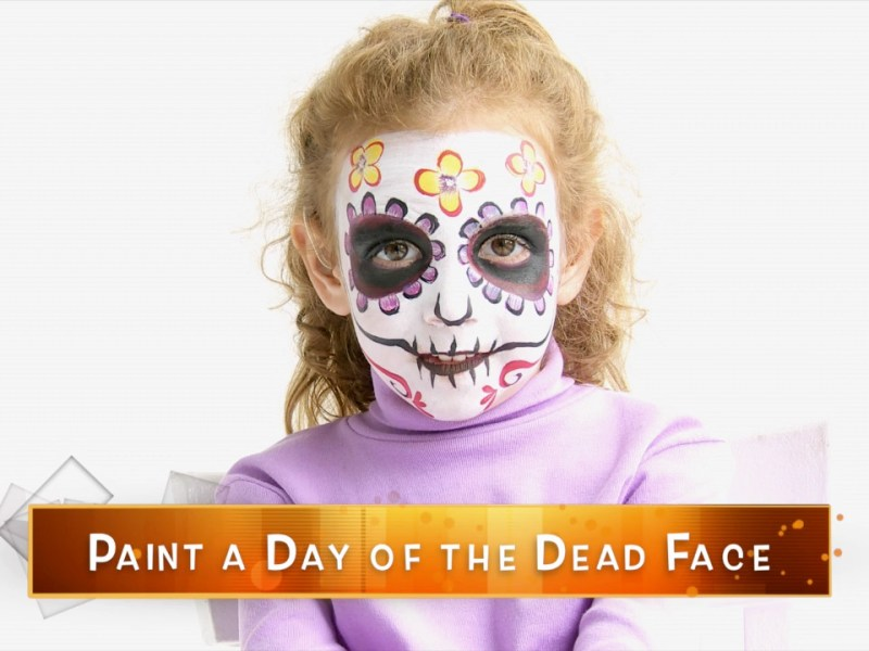 Paint a Day of the Death Face