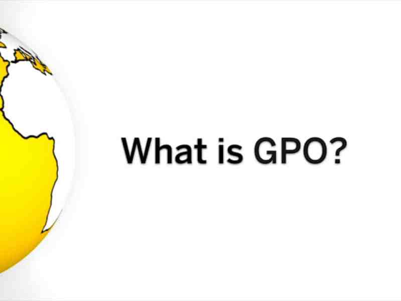 GPO Means