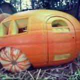 halloween in camper