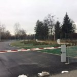 Nuova area di sosta a Cuneo