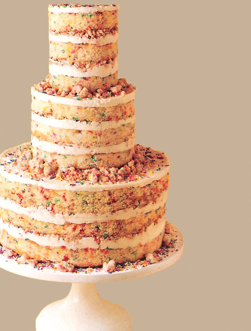 wedding cake layers meaning cake sans frosting inspiration maurine dashney 23074