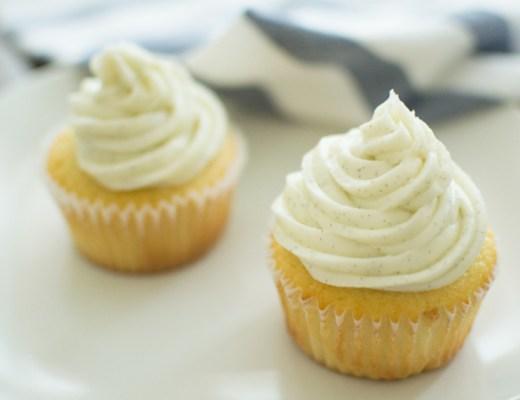 vanilla bean frosting