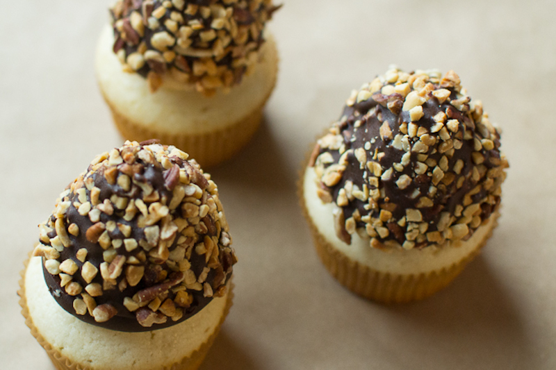 nutty buddy inspired cupcakes
