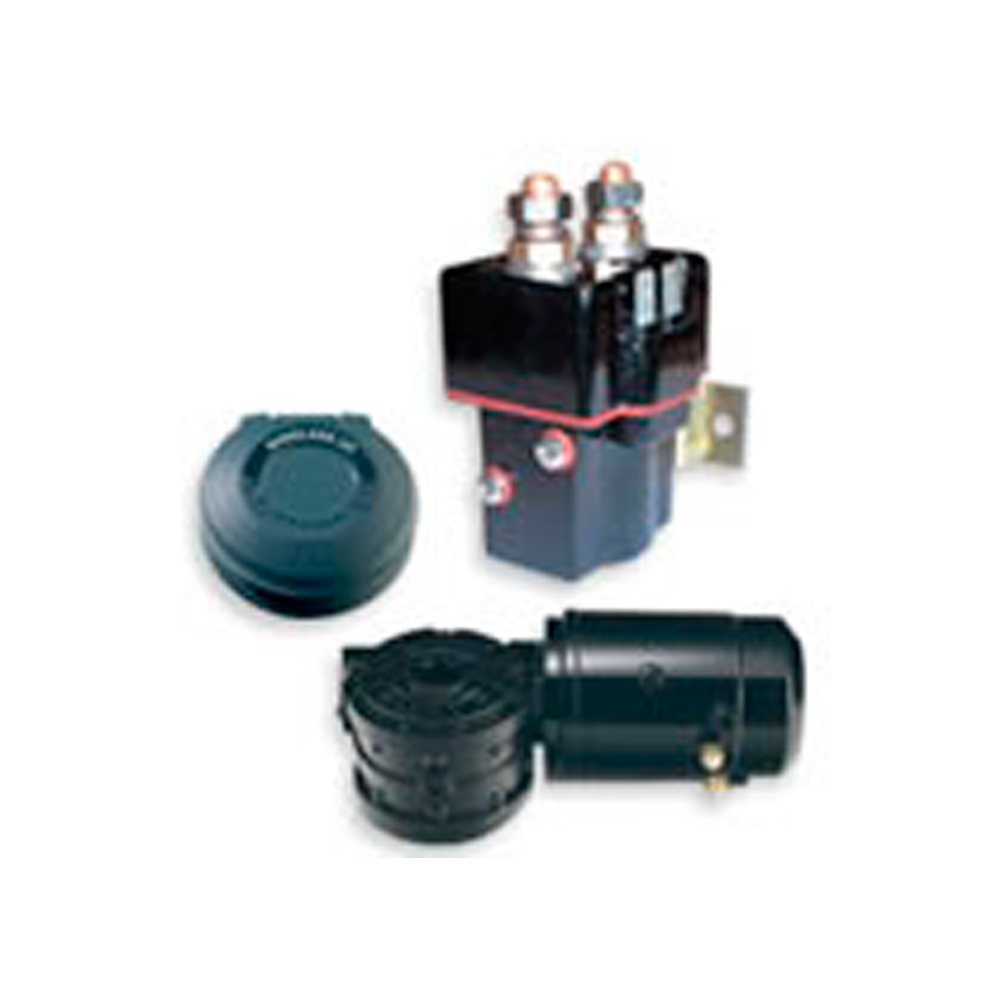 hight resolution of lewmar electric winch components