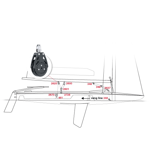Melges MC Scow Sailboat Parts and Sailing Equipment