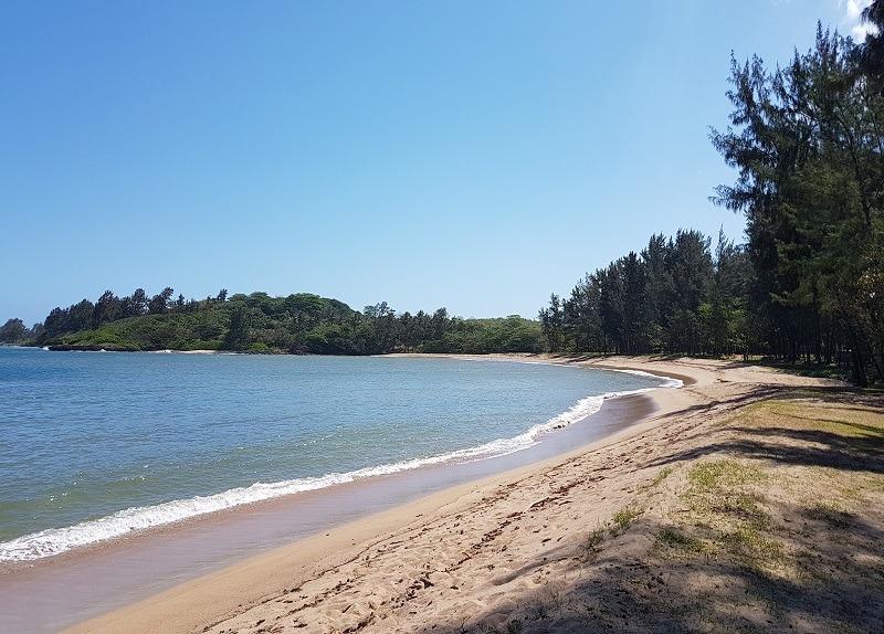 Baie de Jacotet in Mauritius