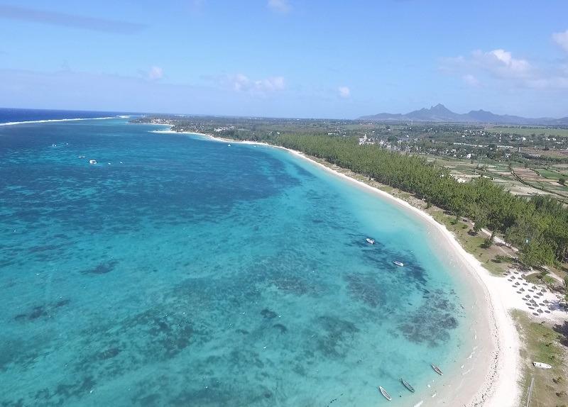 Belle mare in Mauritius