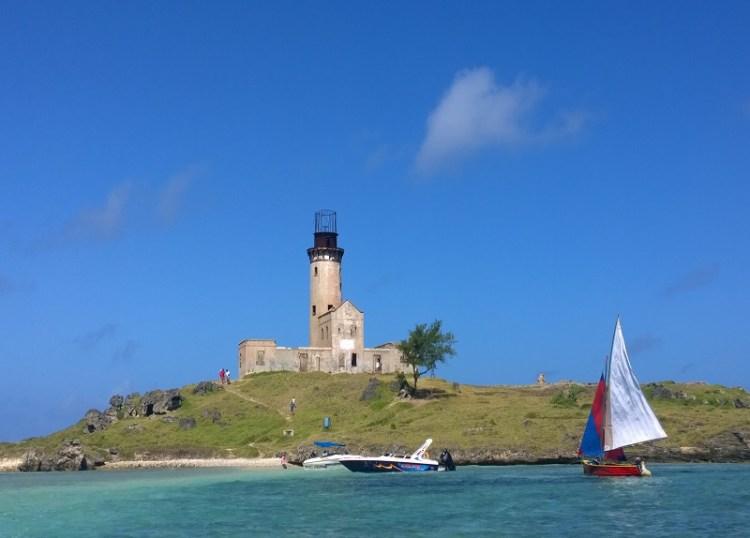 Ile au Phare in Mauritius
