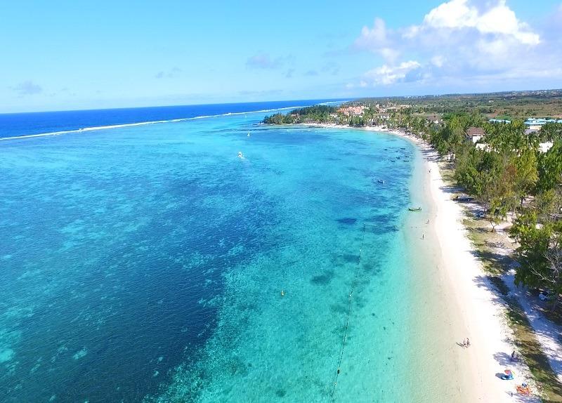 Palmar beach in Mauritius