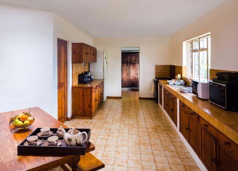 Le Petit Morne Villa in Mauritius - Kitchen