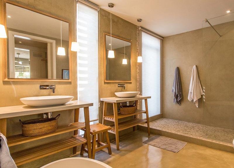 Villa Tourteaux in Mauritius bathroom